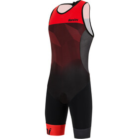 Santini Imago SL Trisuit Men red